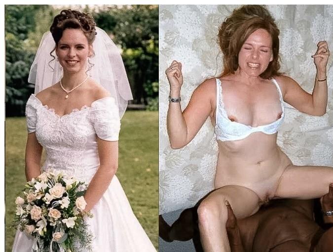 Подглядки невест - подборка 011