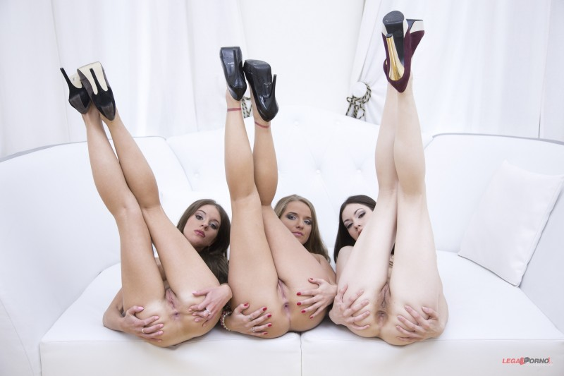 Три подружки-блядушки